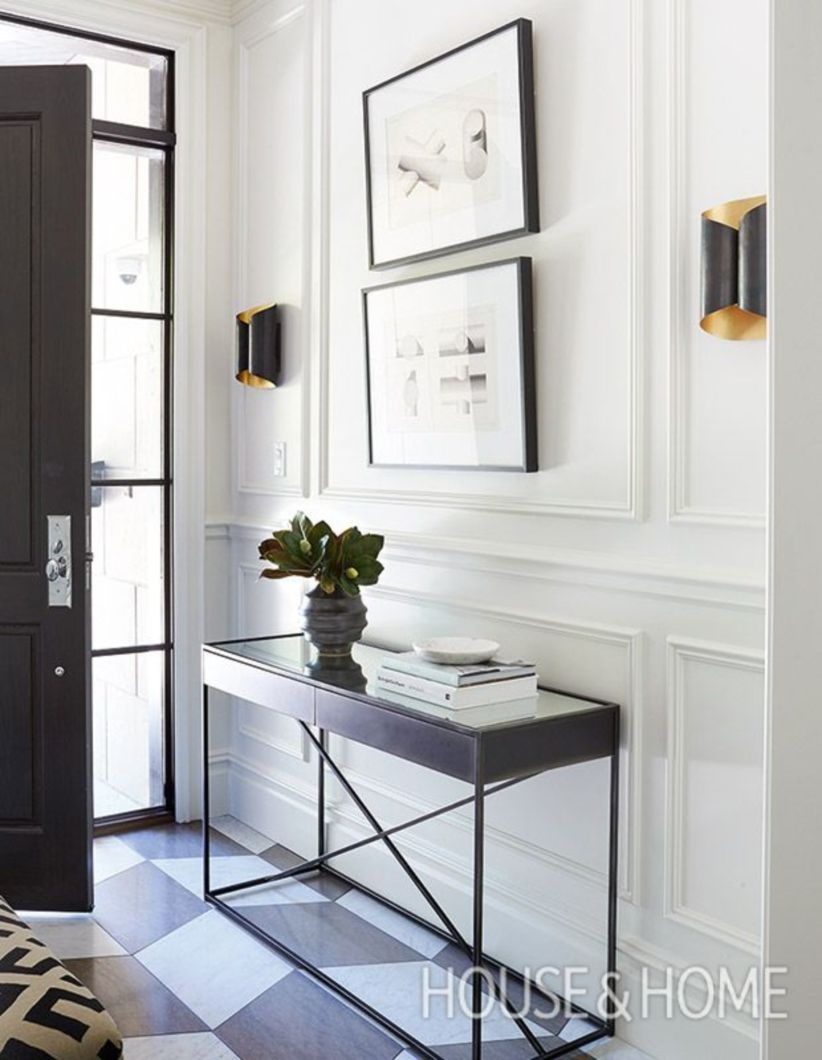 Simple and elegant entry way to inspire you 12