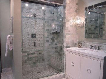 Stand up shower design ideas to copy right now 16