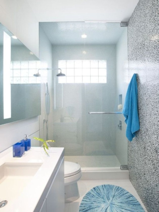 Stand up shower design ideas to copy right now 22