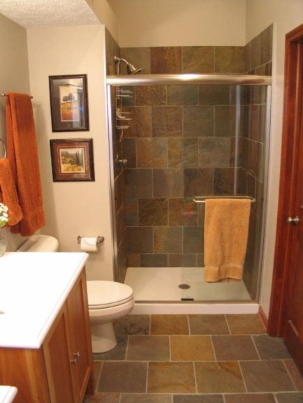 Stand up shower design ideas to copy right now 24