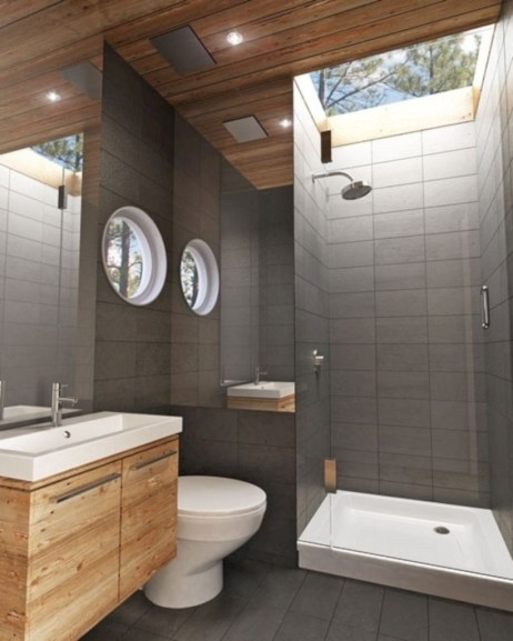 Stand up shower design ideas to copy right now 28