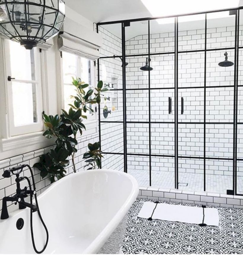 Stand up shower design ideas to copy right now 29