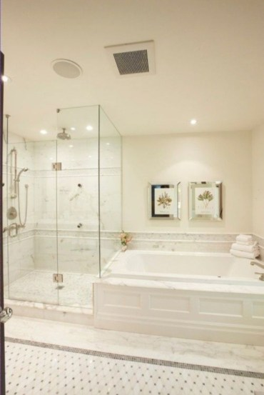 Stand up shower design ideas to copy right now 36