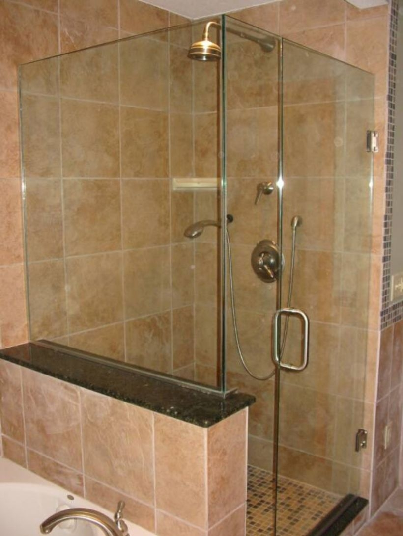 Stand up shower design ideas to copy right now 38