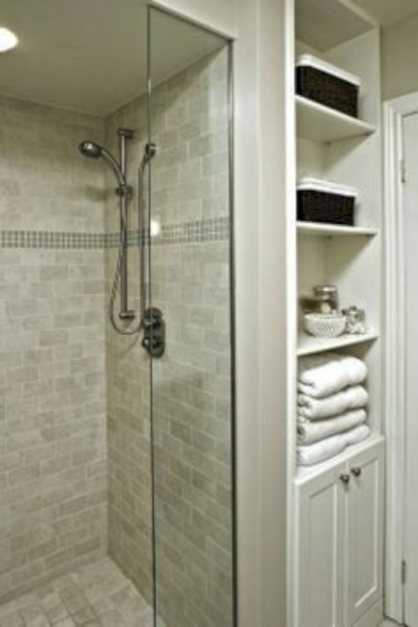 Stand up shower design ideas to copy right now 41