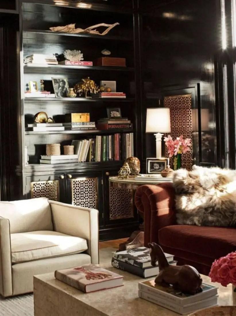Stunning bookshelves ideas for bedroom decoration 02