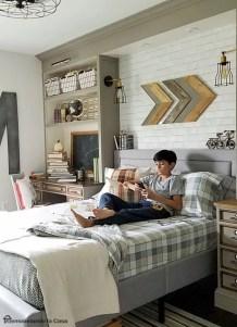 Stunning bookshelves ideas for bedroom decoration 09