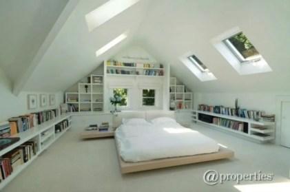 Stunning bookshelves ideas for bedroom decoration 35