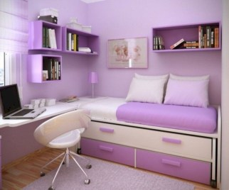 Stunning ideas for small rooms teenage girl bedroom 02