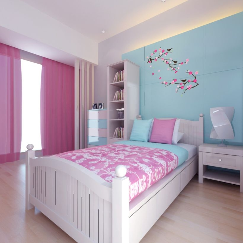 Stunning ideas for small rooms teenage girl bedroom 04