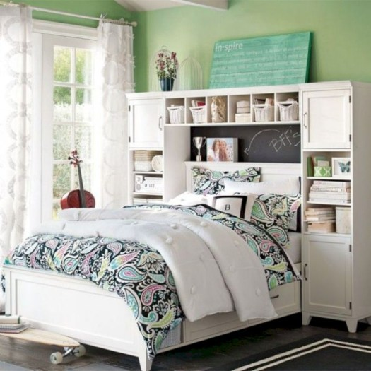 Stunning ideas for small rooms teenage girl bedroom 31
