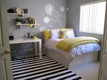 Stunning ideas for small rooms teenage girl bedroom 39