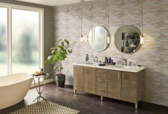 Stunning mosaic tiled wall for your bathroom 28