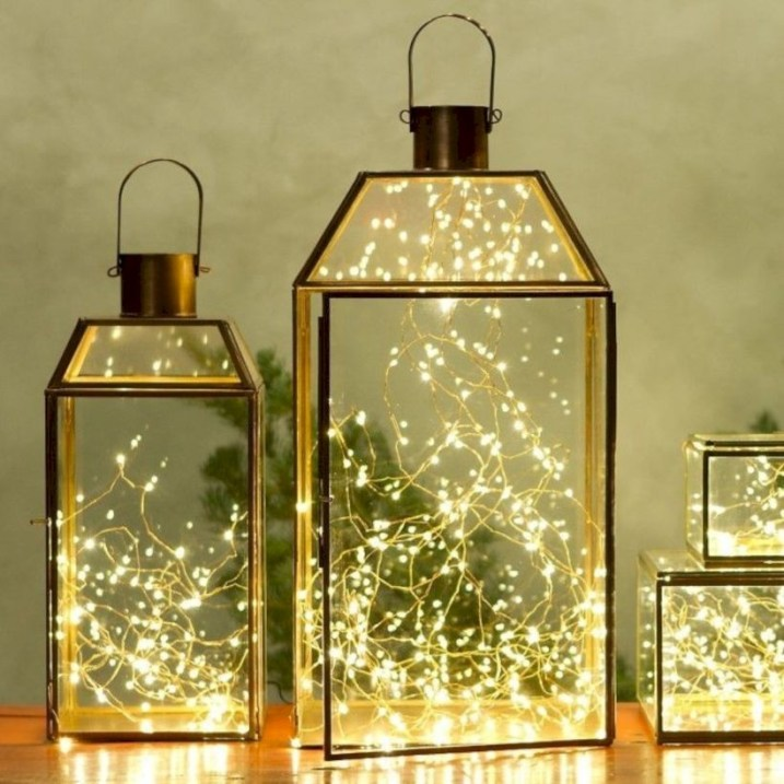 Twinkly ways to light up your home with christmas fairy light 01