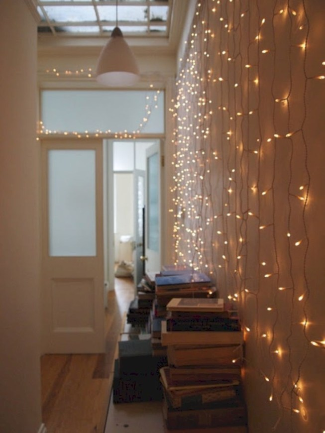Twinkly ways to light up your home with christmas fairy light 15