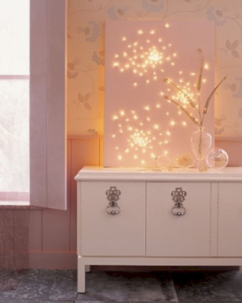 Twinkly ways to light up your home with christmas fairy light 20