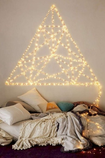 Twinkly ways to light up your home with christmas fairy light 41