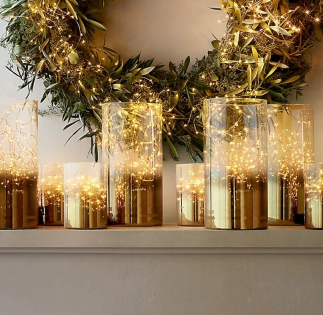 Twinkly ways to light up your home with christmas fairy light 51