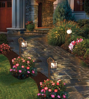 Use-solar-lamps-to-showcase-your-front-yard