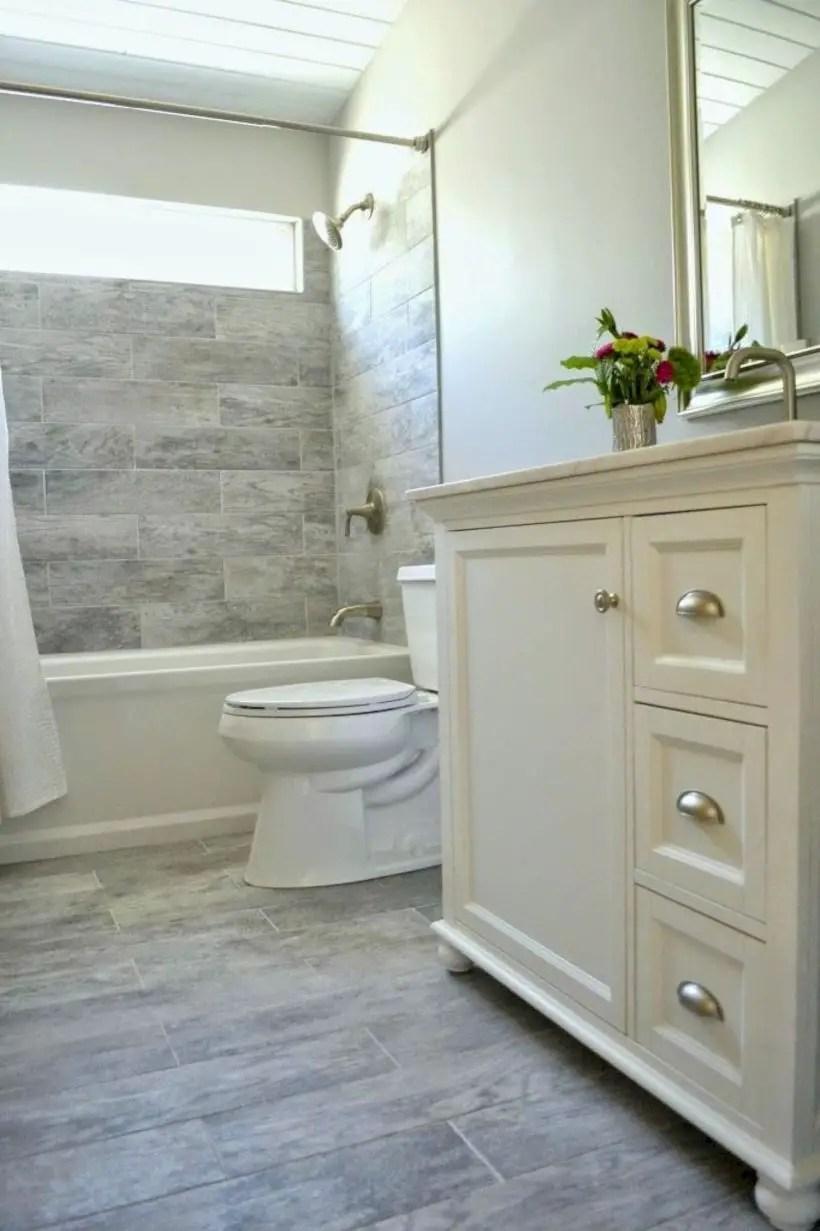 Very small bathroom design on a budget 06