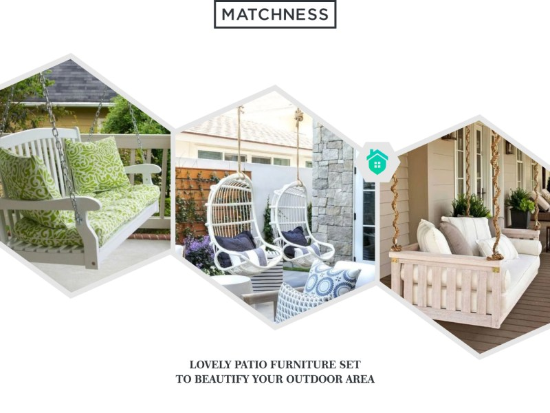 31. patio furniture set to beautify your outdoor area