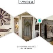 34. rustic decorating ideas