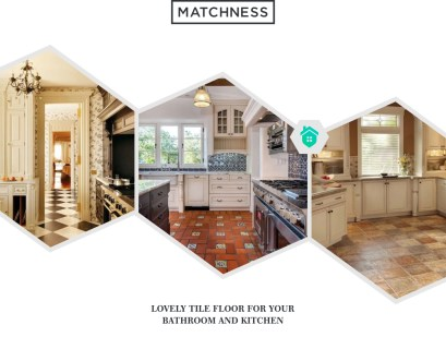 36. lovely tile floor bathroom and kitchen