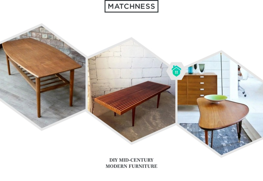 37. diy mid-century modern furniture