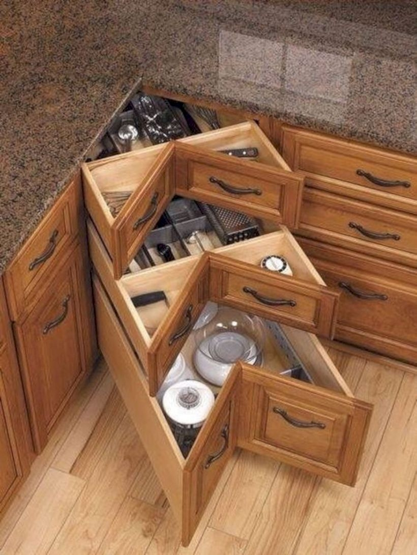 Beautiful storage for kitchen