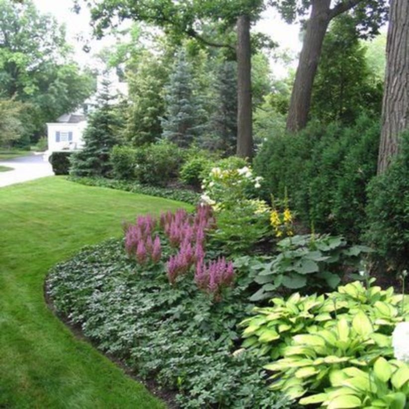 Borderline is design for garden decoration