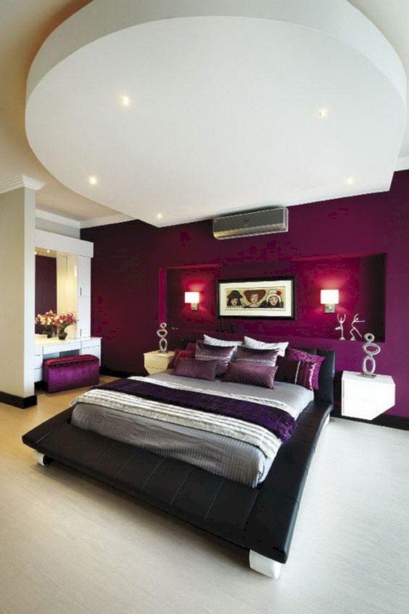 Color style and feel bedroom