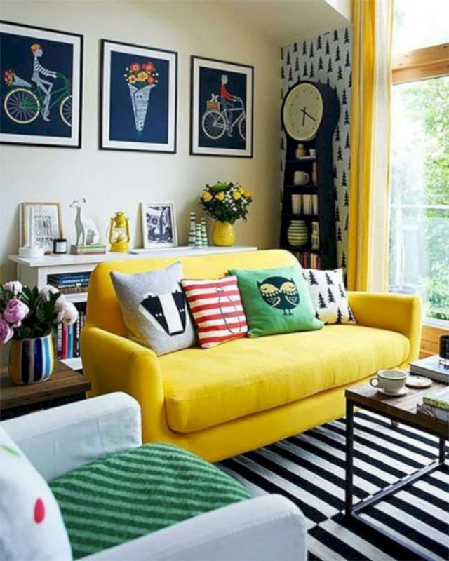 Colorful Minimalist Design: 15 Harmony Interior Design For Minimalist Living Room