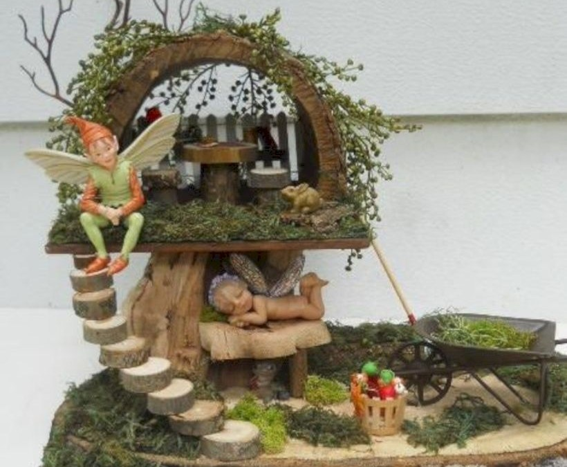 16 Tiny and Adorable Magical DIY Fairy Garden Ideas