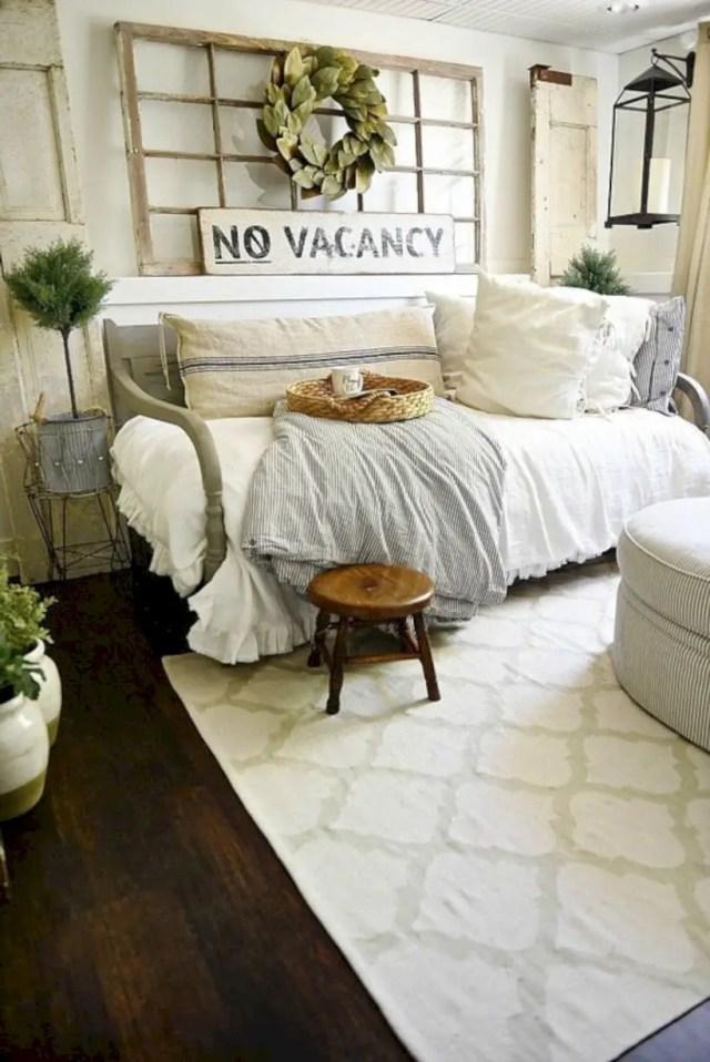 Farmhouse guest bedroom