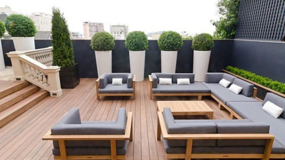 17 Cool and Relaxing Outdoor Living Spaces Design Ideas ...