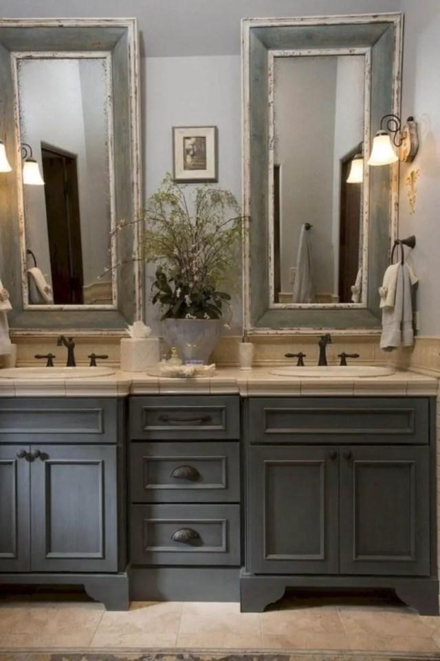17 Beautiful and Modern Farmhouse Bathroom Design Ideas ... on Modern Farmhouse Bathroom Ideas  id=18163