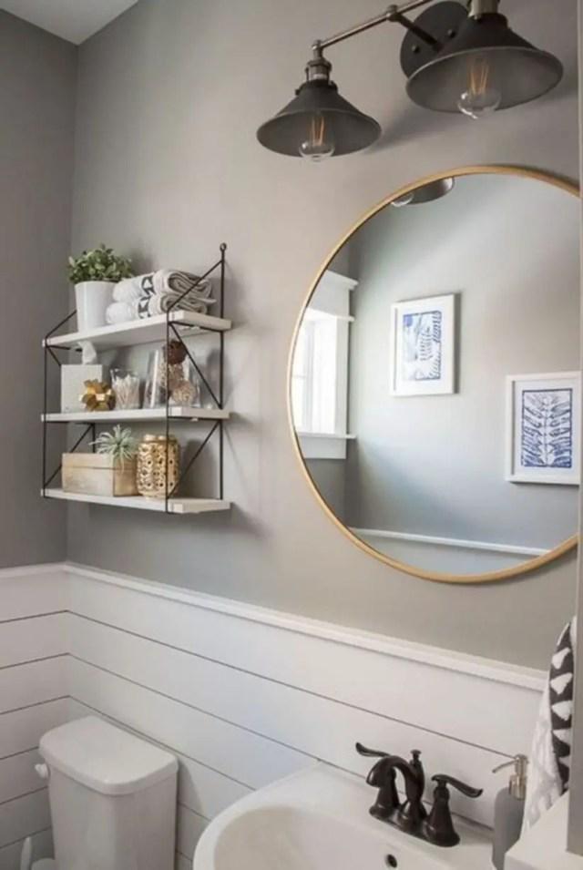 Modern farmhouse bathroom remodel ideas
