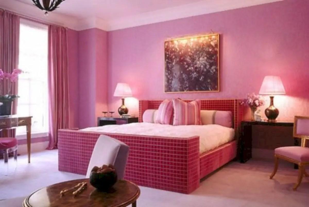 Monochromatic pink color scheme