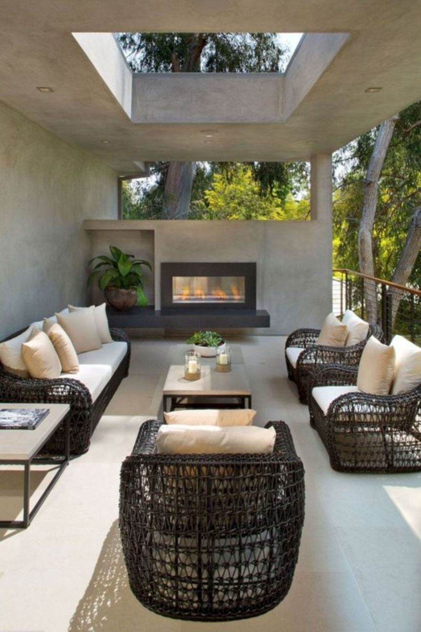 Outdoor living spaces as a resting place with your family