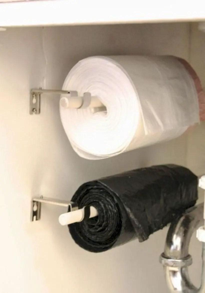 Rv hacks plastic bag rolls