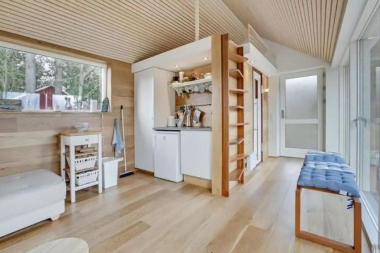 Scandinavian modern tiny house