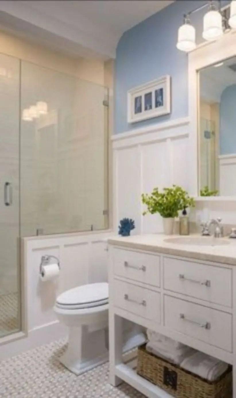 17 Beautiful and Modern Farmhouse Bathroom Design Ideas ... on Bathroom Ideas Modern Farmhouse  id=89121