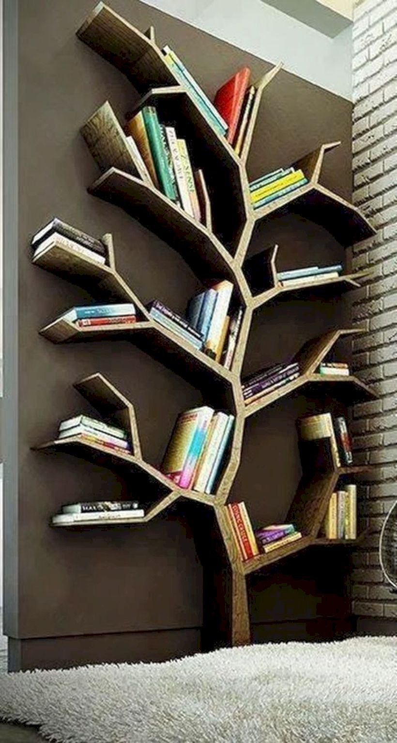 Unique storage solution for your book