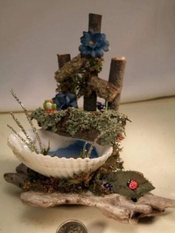 Wastafel. water feature for fairy garden