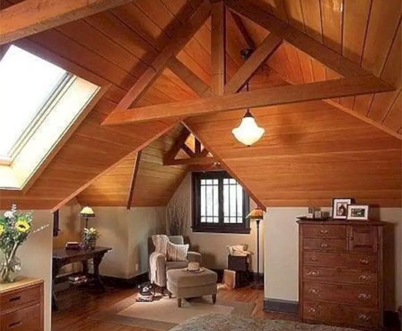 17 Lovely Attic Master Bedroom Decor Ideas