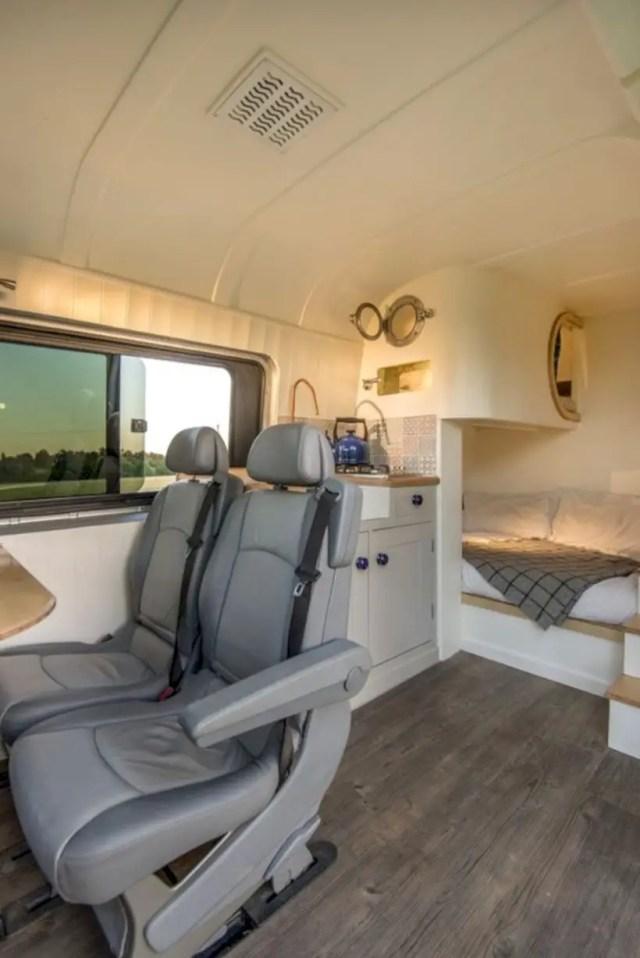 Small camper interior design