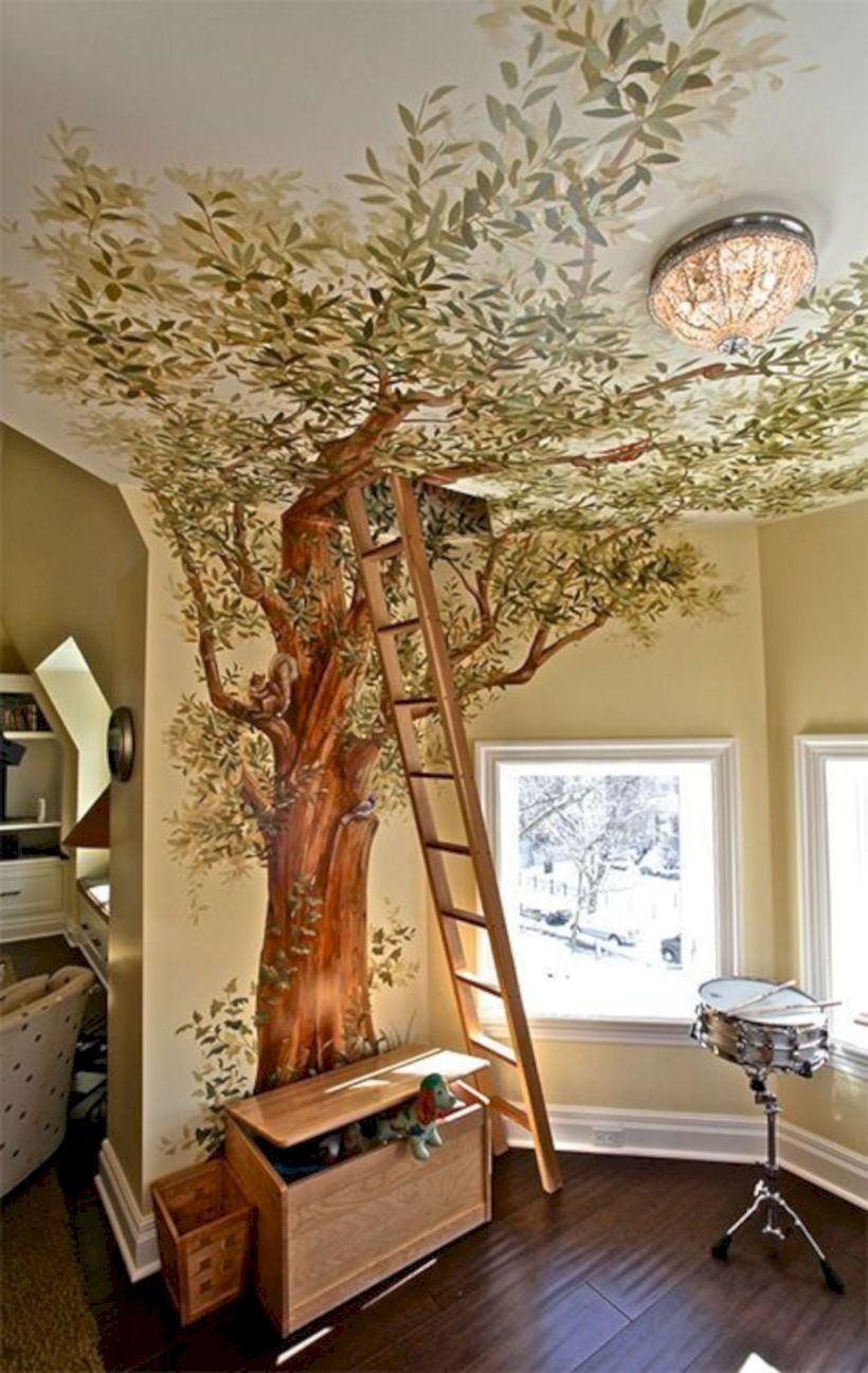 Treehouse for your kids bedroom