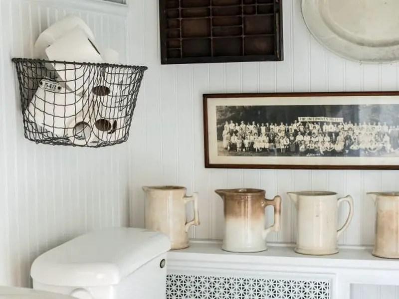 2. basket for toilet paper
