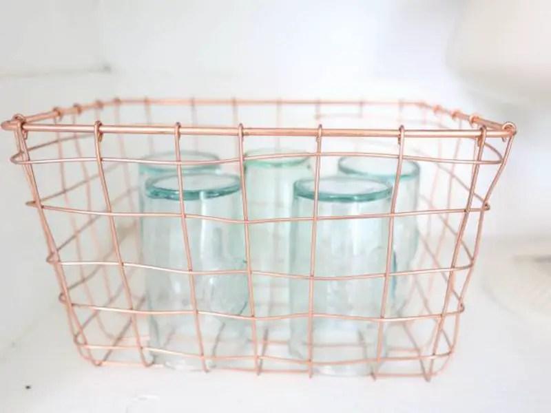 5. basket for dishware
