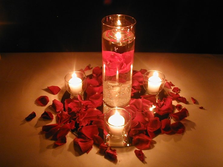 7. rose and candle